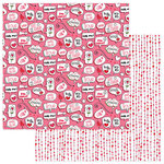 Photo Play Paper - Love Notes Collection - 12 x 12 Double Sided Paper - Swoon
