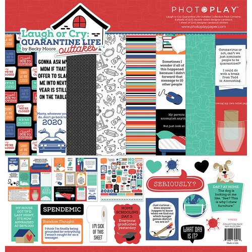 Photo Play Paper - Laugh or Cry Collection - 12 x 12 Collection Pack