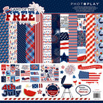 Photo Play Paper - Land of the Free Collection - 12 x 12 Collection Pack