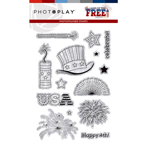 Photo Play Paper - Land of the Free Collection - Photopolymer Stamps