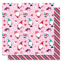 Photo Play Paper - Tulla and Norbert's Love Story Collection - 12 x 12 Double Sided Paper - Be Mine