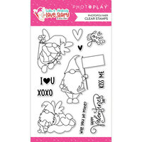 Photo Play Paper - Tulla and Norbert's Love Story Collection - Clear Photopolymer Stamps
