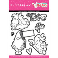 Photo Play Paper - Tulla and Norbert's Love Story Collection - Dies
