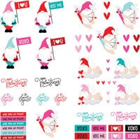 Photo Play Paper - Tulla and Norbert's Love Story Collection - 12 x 12 Single Sided Paper - Elements