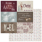 Photo Play Paper - Luke 2 Collection - Christmas - 12 x 12 Double Sided Paper - 4 x 6 Cards