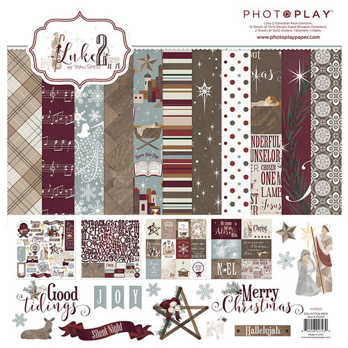 Photo Play Paper - Luke 2 Collection - Christmas - 12 x 12 Collection Pack