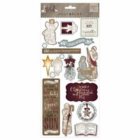 Photo Play Paper - Luke 2 Collection - Christmas - Chipboard Stickers