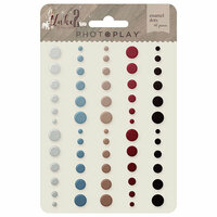 Photo Play Paper - Luke 2 Collection - Christmas - Enamel Dots