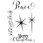 Photo Play Paper - Luke 2 Collection - Christmas - Clear Acrylic Stamp Set