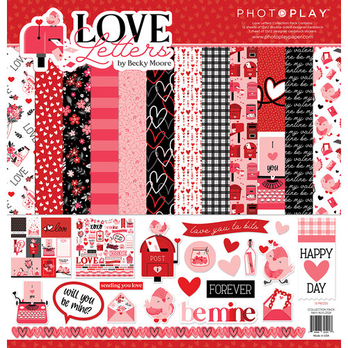 Photo Play Paper - Love Letters Collection - 12 x 12 Collection Pack