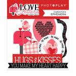 Photo Play Paper - Love Letters Collection - Ephemera