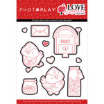 Photo Play Paper - Love Letters Collection - Etched Die Set