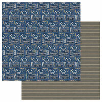 Photo Play Paper - Man Card Collection - 12 x 12 Double Sided Paper - Barber
