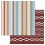 Photo Play Paper - Man Card Collection - 12 x 12 Double Sided Paper - Stripe