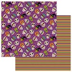 Photo Play Paper - Matilda and Godfrey Collection - Halloween - 12 x 12 Double Sided Paper - Dia de los Muertos