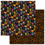 Photo Play Paper - Matilda and Godfrey Collection - Halloween - 12 x 12 Double Sided Paper - Toil and Trouble