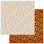 Photo Play Paper - Matilda and Godfrey Collection - Halloween - 12 x 12 Double Sided Paper - Haunted House