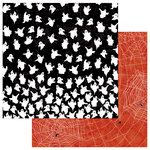Photo Play Paper - Matilda and Godfrey Collection - Halloween - 12 x 12 Double Sided Paper - Creepy Crawlers