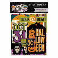 Photo Play Paper - Matilda and Godfrey Collection - Halloween - Ephemera