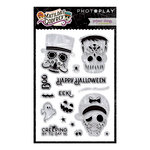 Photo Play Paper - Matilda and Godfrey Collection - Halloween - Clear Acrylic Stamps