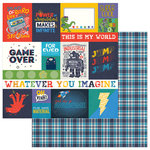 Photo Play Paper - My Imagination Collection - 12 x 12 Double Sided Paper - Infinite