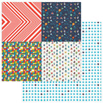 Photo Play Paper - My Imagination Collection - 12 x 12 Double Sided Paper - Bold