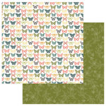 Photo Play Paper - Memory Lane Collection - 12 x 12 Double Sided Paper - Tradition