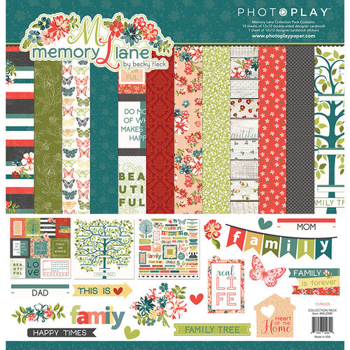 Photo Play Paper - Memory Lane Collection - 12 x 12 Collection Pack