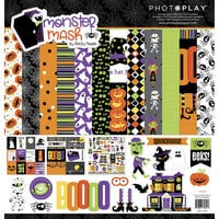 Photo Play Paper - Monster Mash Collection - Halloween - 12 x 12 Collection - Halloween Pack