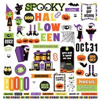 Photo Play Paper - Halloween - Monster Mash Collection - Element Stickers