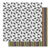 Photo Play Paper - Halloween - Monster Mash Collection - 12 x 12 Double Sided Paper - Itsy Bitsy Spider