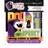 Photo Play Paper - Halloween - Monster Mash Collection - Ephemera