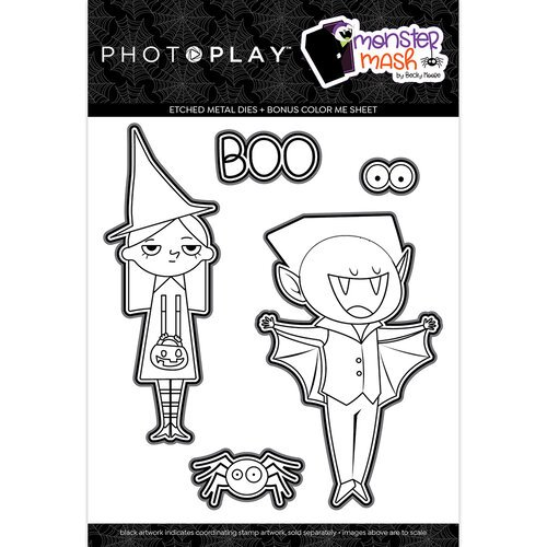 Photo Play Paper - Halloween - Monster Mash Collection - Dies