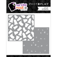 Photo Play Paper - Halloween - Monster Mash Collection - Stencils