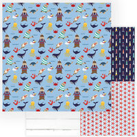 Photo Play Paper - Monterey Bay Collection - 12 x 12 Double Sided Paper - On The Dock