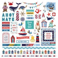 Photo Play Paper - Monterey Bay Collection - Monterey Bay 12 x 12 Cardstock Stickers - Element
