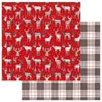 Photo Play Paper - Mad 4 Plaid Christmas Collection - 12 x 12 Double Sided Paper - Festive