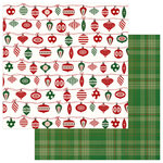 Photo Play Paper - Mad 4 Plaid Christmas Collection - 12 x 12 Double Sided Paper - Trim the Tree