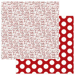 Photo Play Paper - Mad 4 Plaid Christmas Collection - 12 x 12 Double Sided Paper - Cheer