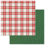 Photo Play Paper - Mad 4 Plaid Christmas Collection - 12 x 12 Double Sided Paper - Merry