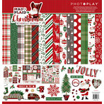 Photo Play Paper - Mad 4 Plaid Christmas Collection - 12 x 12 Collection Pack