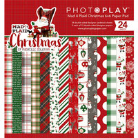 Photo Play Paper - Mad 4 Plaid Christmas Collection - 6 x 6 Paper Pad