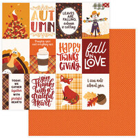 Photo Play Paper - Mad 4 Plaid Fall Collection - 12 x 12 Double Sided Paper - Fall In Love