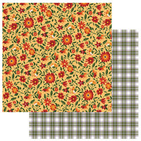 Photo Play Paper - Mad 4 Plaid Fall Collection - 12 x 12 Double Sided Paper - Fall Blessed