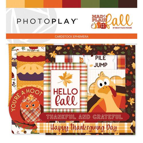 Photo Play Paper - Mad 4 Plaid Fall Collection - Ephemera