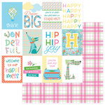 Photo Play Paper - Mad 4 Plaid Happy Collection - 12 x 12 Double Sided Paper - Happy Day