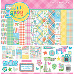 Photo Play Paper - Mad 4 Plaid Happy Collection - 12 x 12 Collection Pack