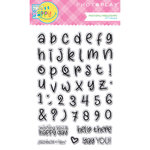 Photo Play Paper - Mad 4 Plaid Happy Collection - Clear Acrylic Stamps