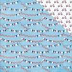 PhotoPlay Paper - Main St Parade Collection - 12 x 12 Double Sided Paper - Banners
