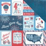Photo Play Paper - Main St Parade Collection - 12 x 12 Double Sided Paper - Cards